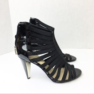 SZ 11 Marc Fisher Black Strappy Heels